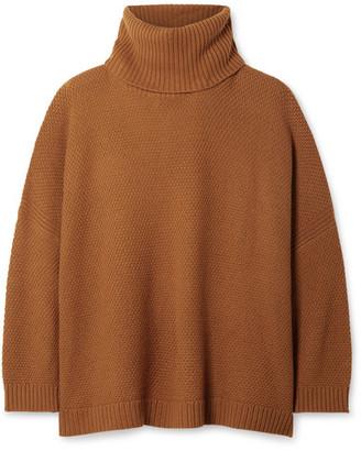 L.F. Markey Theo Oversized Wool-blend Turtleneck Sweater - Camel