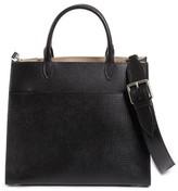 Maison Margiela Bonded Leather Satchel - Black