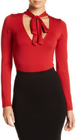 Rachel Pally Leif Stretchy Necktie Bodysuit