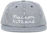 MAISON KITSUNÉ embroidered cap - unisex - Cotton/Leather - One Size