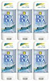 IDEA Dial 1327463 Dry Unscented Clear Gel Anti-Perspirant Deodorant, 3oz Size (Pack of 6)