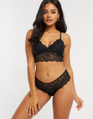 Gilly Hicks lace and strap detail bralet