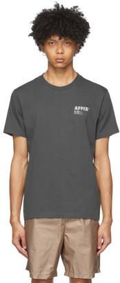 AFFIX Grey Basic Logo T-Shirt