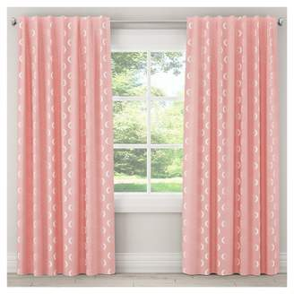 "Skyline Furniture Moon Blackout Curtain Panel (63""x50"") Pink"