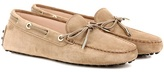 Tod's Heaven Lacetto suede loafers