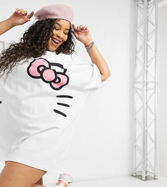 New Girl Order Curve x Hello Kitty oversized t-shirt dress