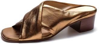 Celine Lou.Earl Sandals In Copper