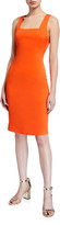 Alice + Olivia Addie Square-Neck Dress