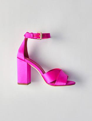 Maje Heeled satin sandals