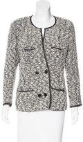 Isabel Marant Leather-Accented Bouclé Jacket