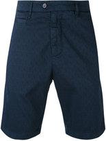 Perfection textured shorts - men - Cotton/Spandex/Elastane - 48