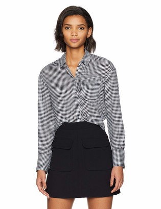 Tommy Hilfiger Tommy Jeans Women's Gingham Shirt Crop Top