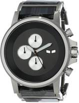 Vestal Men's PLA021 Plexi Acetate Silver Gunmetal Watch