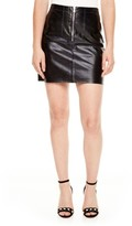 Sandro Women's Leather Miniskirt