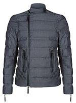 Emporio Armani Biker Detail Quilted Jacket
