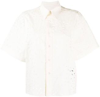AMI Paris Petal Short-Sleeve Shirt