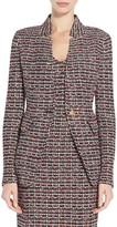 St. John Curacao Tweed Knit Jacket