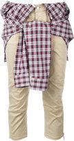 DSQUARED2 shirt wrap trousers - women - Cotton/Polyester/Spandex/Elastane/Viscose - 40