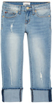 Hudson Ginny Cuff Crop Skinny Jeans (Big Girls)