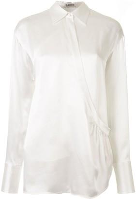 Jil Sander Wrap Style Shirt