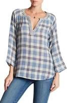Velvet by Graham & Spencer Zuri Woven Plaid Shirt