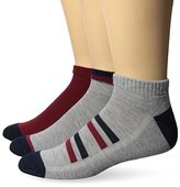 Levi's Men's 3-Pack Casual Stripe and Solid Low-Cut Socks