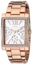 GUESS Women's U0446L3 Stunning Retro Rose Gold-Tone Multi-Function Watch