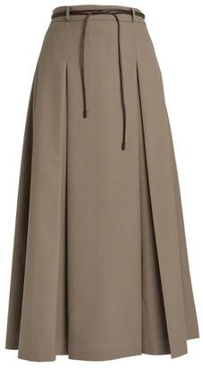REJINA PYO Malia Pleated Maxi Skirt