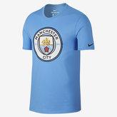 Nike Manchester City FC Crest Men's T-Shirt