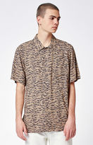 Obey Uproar Short Sleeve Button Up Camp Shirt