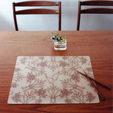 Modern-Twist Birds `n Trees Placemats