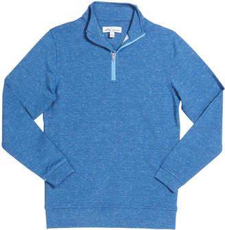 Peter Millar Boy's Perth Performance Quarter-Zip Sweater, Size XS-XL