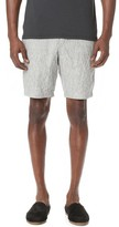 Wings + Horns Washed Linen Officer Shorts