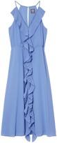 Vince Camuto Ruffled Midi Dress