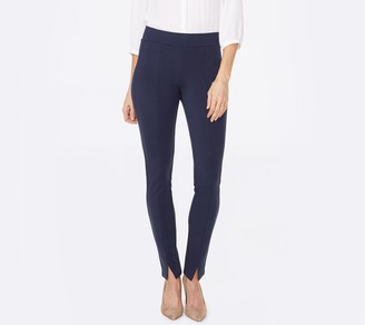 NYDJ Ponte Leggings with Front Slit