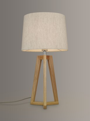 John Lewis & Partners Brace Table Lamp, FSC-Certified (Oak)
