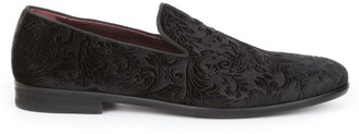 Bruno Magli Picasso Velvet Formal Slip On Loafers