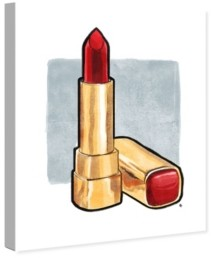 """Oliver Gal Red Lips Don't Lie Canvas Art, 24"""" x 28"""""""
