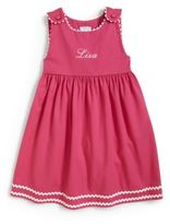 Princess Linens Little Girl's Personalized Dress