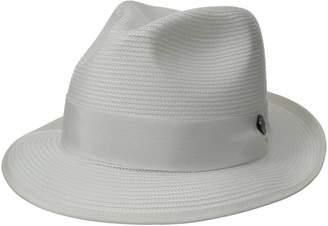Stetson Men's Latte Florentine Milan Straw Hat
