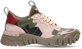 Valentino 30MM ROCKRUNNER PLUS LEATHER SNEAKERS