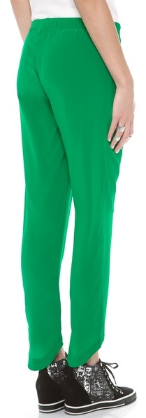 LnA Alexa Silk Pants