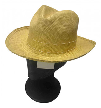 Sensi Yellow Wicker Hats