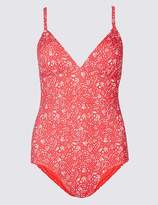 Marks and Spencer Secret SlimmingTM Printed Plunge Swimsuit