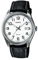 Casio Collection – Men's Analogue Watch with Genuine Leather Strap – MTP-1302PL-7BVEF