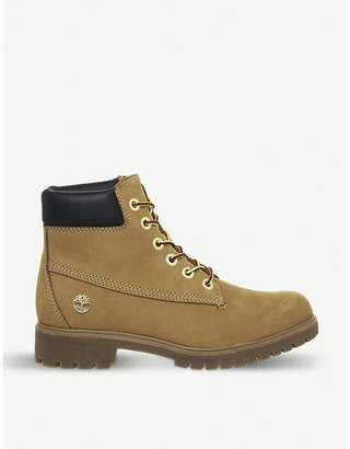 Timberland Slim Premium 6 Inch leather boots