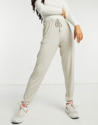 New Look cosy lounge jogger in mink
