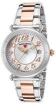 Swiss Legend Women's 'Bel Air' Quartz Stainless Steel Casual Watch, Color:Two Tone (Model: 16330SM-SR-22)