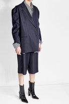 Vetements X Brioni Tailored Wool Shorts with a Slit