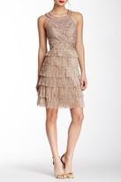 Sue Wong N4401 Halter Neck Tiered Cocktail Dress